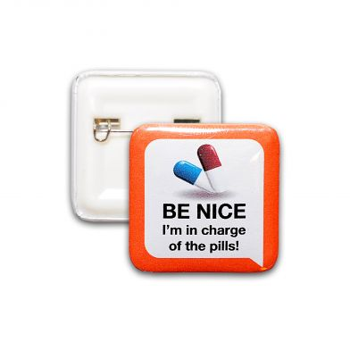Be Nice -pinssi